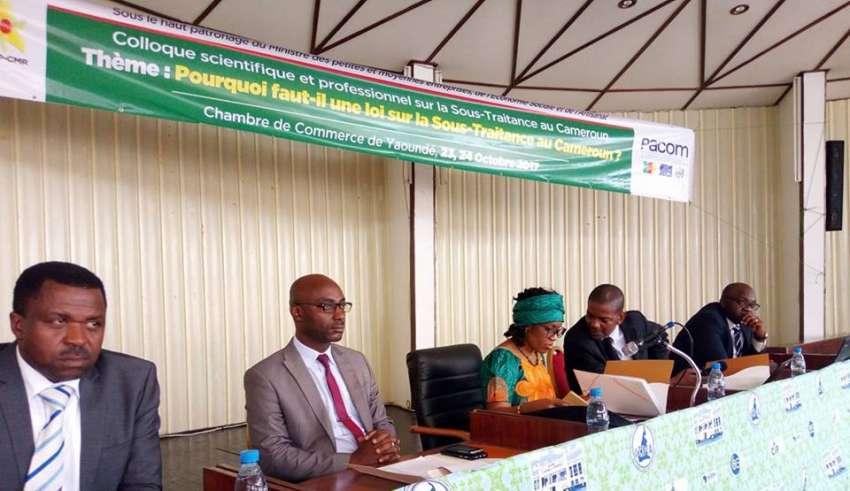 Cameroun pourquoi faut il une loi sur la sous traitance for Chambre de commerce du cameroun